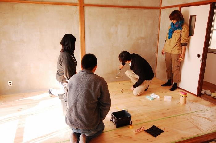 セルフリノベーションで塗装に挑戦