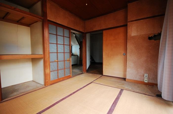 施工前の和室