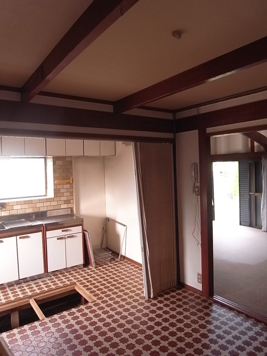 施工前のキッチン