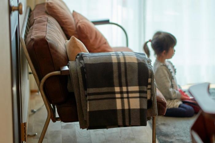 レトロな家具が似合う空間