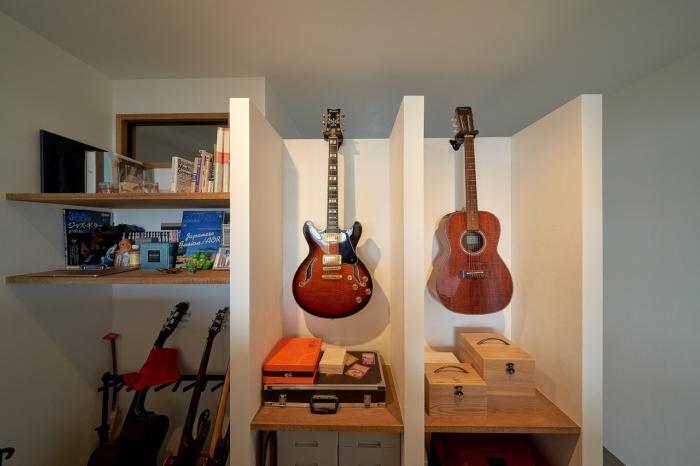 飾って楽しむギターコレクション