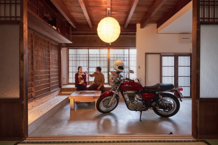 和×バイク×猫」の古民家リノベーション | G-FLAT株式会社