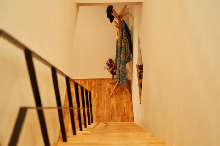 密かにお気に入りの階段